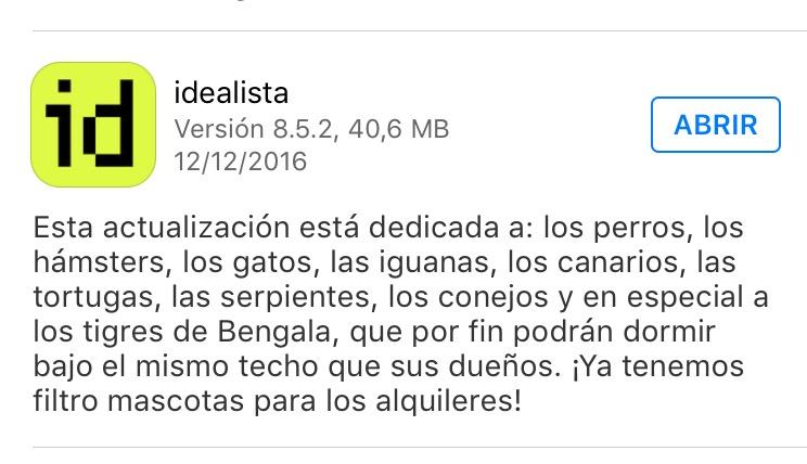 release idealista
